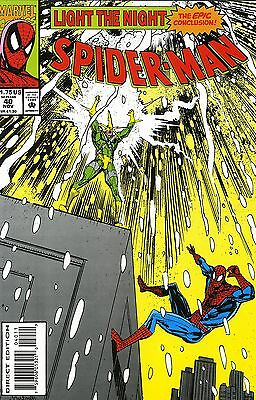 Spider-Man # 40 November 1993  Marvel Comics