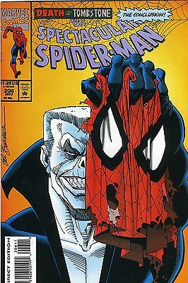 The Spectacular Spider-Man # 206 November 1993 Marvel Comics