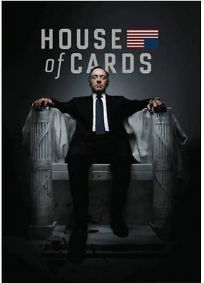 House of Cards: The Complete First Season (DVD, 2013, 4-Disc Set) NEW SEALED
