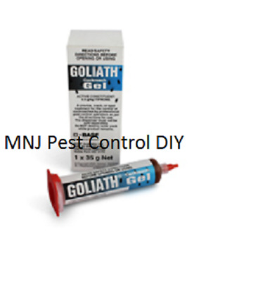 Goliath Cockroach Gel 35g  VERY STRONG 3  + 3 German Cockroach Sticky Traps