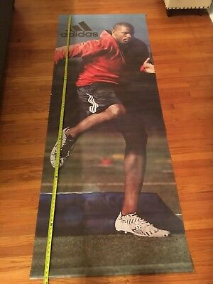 """Adidas Store Display Advertising Wall Sign 10"""" by 3'"""