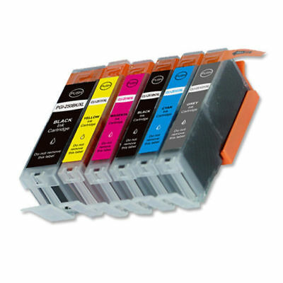 6 New Ink Set + smart chip for Canon PGI-250XL CLI-251XL MG7520 iP8720