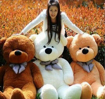 UK Large Teddy Bear Giant Teddy Bears Big Soft Plush Toys Kids 60/80/100cm