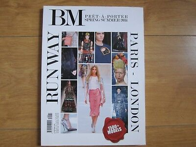 BM Pret-a-Porter Magazine Spring / Summer 2014 Paris-London Runway New.
