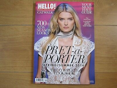 Hello Catwalk Magazine Spring / Summer 2016 Pret-a-Porter New.