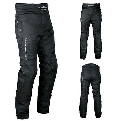CE Armored Motorcycle Biker Waterproof Textile Lady Trousers Termic Lining A-Pro