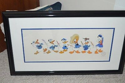 Donald Through the Years, Limited Edition Disney Sericel