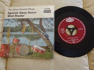 Single - The Johnny Howard Group - Spanish Gipsy Dance - Beat Rock Pop Oldies
