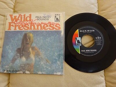 Single - Paul Nero Sounds - Wild Freshness - Beat Rock Pop Oldies