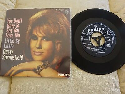 Single - Dusty Springfield - You Dont Have To Say You  - Beat Rock Pop Oldies