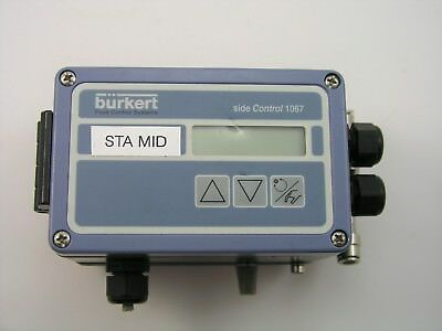 BURKERT SIDE CONTROL 1067 POSITIONER - Parallel Acting - 24VDC