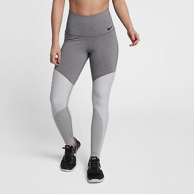 700760e68d9a5 Nike Power Women's High-Rise Training Tights XL Gray Gym Running Yoga New