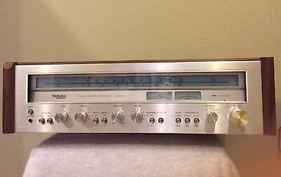 Technics Sa-5470 Receiver Professionally Serviced Tested Read Entirely  Please
