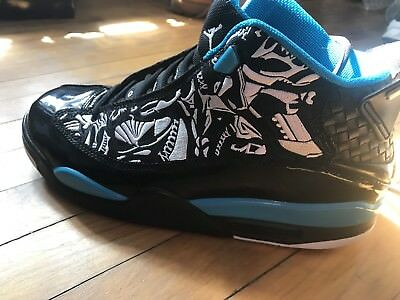 low priced 1e4c8 20ad7 Air Jordan Dub Zero Size 10 Mens Laser Blue, White, Black
