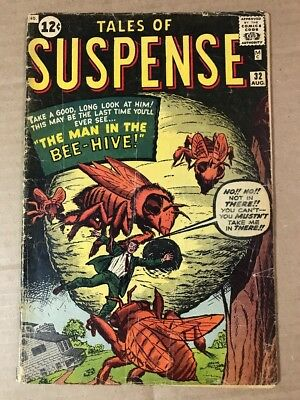 Tales Of Suspense #32 1st Ant-Man Prototype VG-