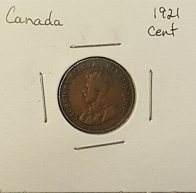 1921 Canada Cent - King George V