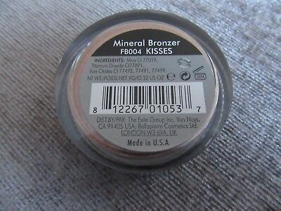 BN and sealed Bellapierre mineral bronzer FB004 kisses 9 grams-cruelty free