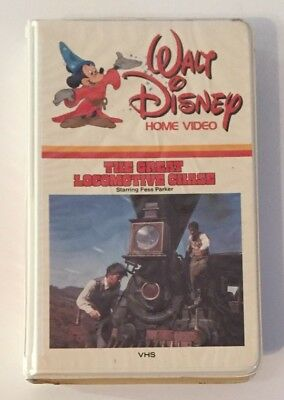 The Great Locomotive Chase Rare & OOP Walt Disney Home Video Clamshell VHS