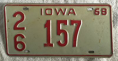 Offered here for sale is a fine, original and authentic, 1989 University of  Northern Iowa Panthers sample license plate. Includes FREE BOXED SHIPPING.