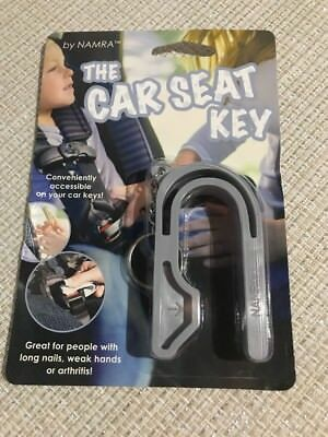 The Car Seat Key Grey by NAMRA Made in USA Gray Keychain