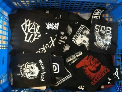 PUNK PARCHES A - Z coser Rock hardcore Metal Anarcho Crust Grind Straight Edge