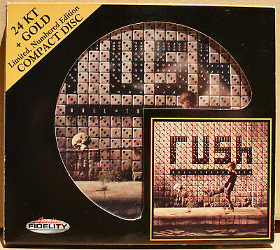 AUDIO FIDELITY GOLD CD AFZ-116: RUSH - Roll The Bones - 2011 USA NM