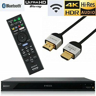 Sony UBP-X80/UBP-X800 4K Ultra HD Blu-ray Player
