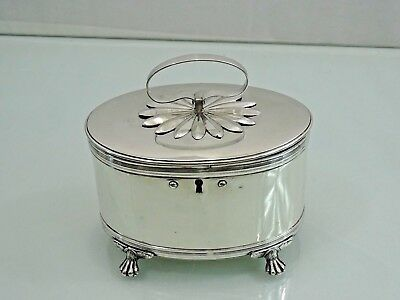 ANTIQUE SWEDISH SILVER LARGE BOX SWEDEN  Late 18 - Early 19 Cent.  SCANDINAVIAN