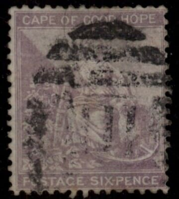 1872 Cape Of Good Hope Sc#18 Used Cv$ **free Shipping**