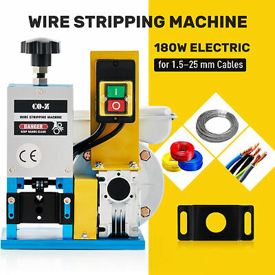 1/4HP Portable Powered Electric Wire Stripping Machine Comercial  Cable Stripper