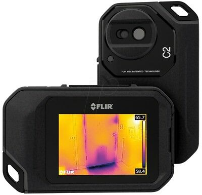 """Flir C2 Compact Thermal Imaging System 3"""" Touch Screen Includes Free Carry Case"""
