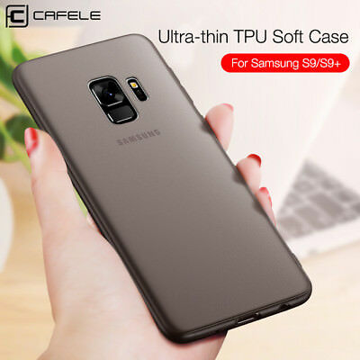 For Samsung Galaxy S9/S9 Plus Luxury Ultra-thin Slim Matte Soft TPU Case Cover