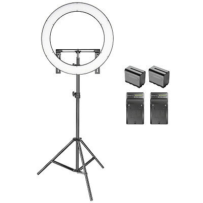 Neewer Kit de 49cm SMD LED Anneau Bicolore Dimmable Photo Studio