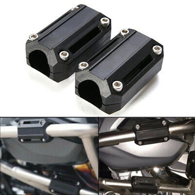 4 x 25mm Motorcycle Engine Protection Guard Bumper Decor Block For BMW R1200GS