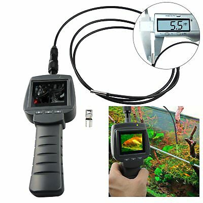 """2.4"""" Handheld Industrial Inspection Camera Endoscope 5.5mm 2M Cable, IP67 Scope"""
