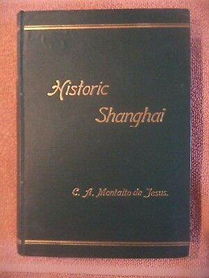 RARE ANTIQUE BOOK ON CHINA - Historic Shanghai - 1st Edition! (Chinese Studies)