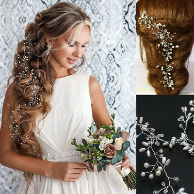 Pearls hair band Hair Vine Headpiece hair band Bridal Flower Bridal Accessories