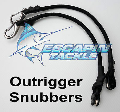 Outrigger Snubbers / Shockcords. Set of 2 for Outriggers, Australian Made