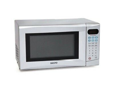 Sanyo Em S155as 17l Digital Compact Microwave Oven 700w Silver