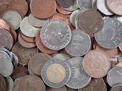 Lot of 1.2 kg Mixed World Coins, Collectible World Coins Nr. 8813