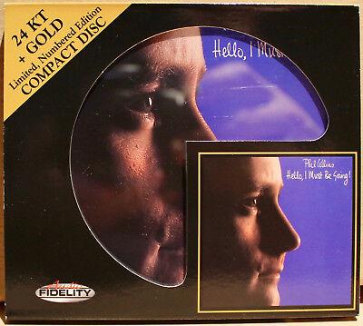 AUDIO FIDELITY GOLD CD AFZ-129: PHIL COLLINS - Hello, I Must Be Going! - 2011 NM