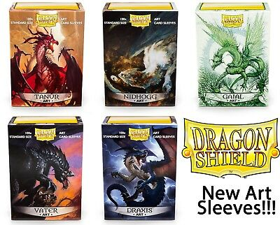 Dragon Shield Art Sleeves - standard size - Artwork Auswählen