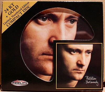 AUDIO FIDELITY GOLD CD AFZ-135: PHIL COLLINS - ...But Seriously - 2012 USA NM