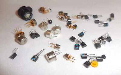 Assorted Transistors and ICs For Tektronix 7A13 Differential Comparator Plug In