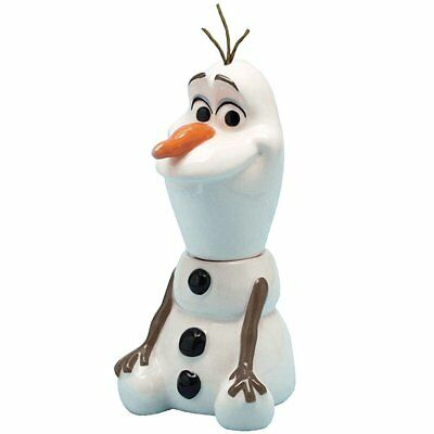 Disney Frozen Olaf Salt And Pepper Shaker Set Magnetic Collectible Snowman