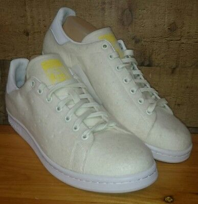 a4750e1a4 Adidas Pharell Stan Smith TNS Tennis Pack Mens B25390 Neo White Shoes Size  13