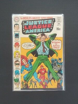 Justice League of America #77 NM (1969, DC Comics) Silver Age Batman Superman