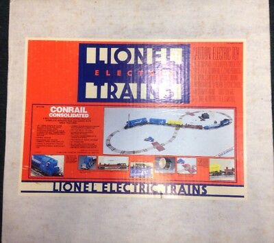 Lionel 6-11740-202 Conrail Consolidated Train Set Test Ran Up Missing Caboose