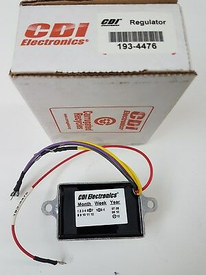 CDI 193-4476 40-70&105 HP Johnson Evinrude Voltage Regulator 10Amp 585001 MD
