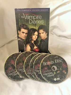 The Vampire Diaries Complete Second (2nd) Season DVD A7